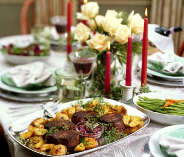 Merry Christmas Dinner Ideas