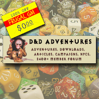 Free GM Resource: A Treasure-Trove of Stuff Over at D&D Adventures
