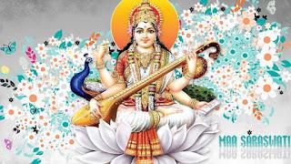 beautiful images of maa saraswati