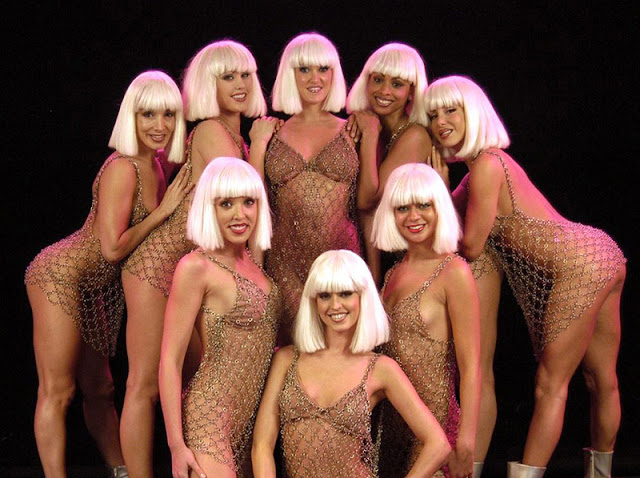 Dicas de Las Vegas: Elenco Show Crazy Girls