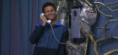 Danrley no Big Fone do BBB19; nesta temporada os participantes poderão usar um telefone celular