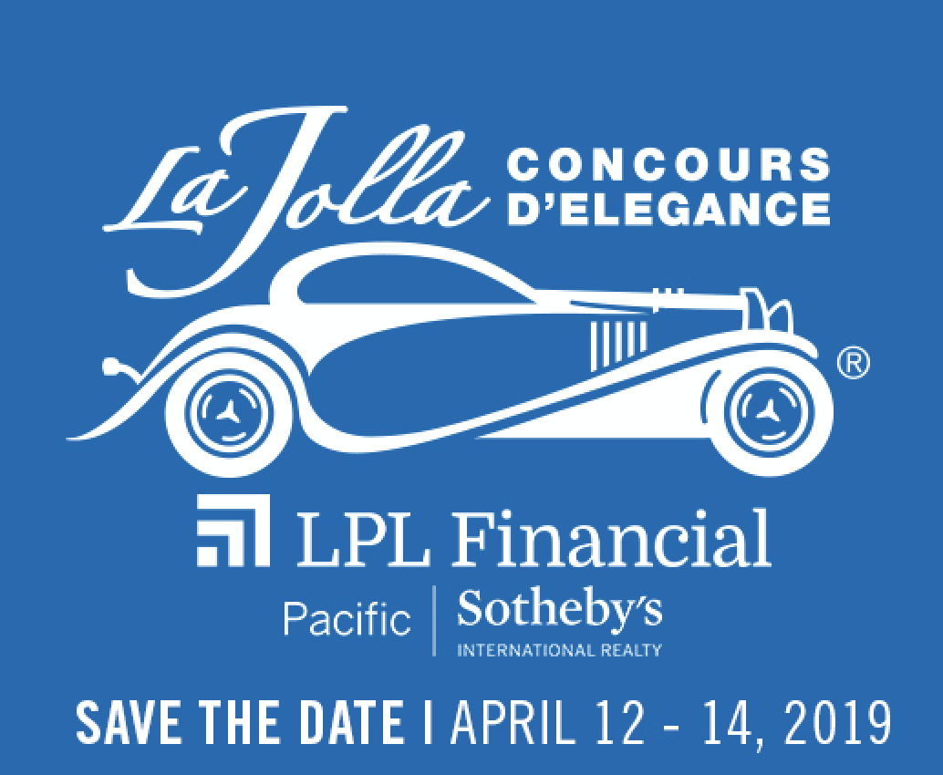 Promo code SDVILLE saves on any and all tickets to the La Jolla Concours D'Elegance - April 12-14!