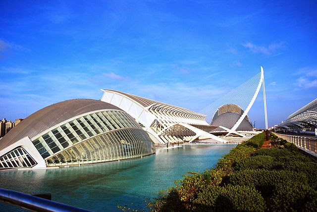 La Ciuad de las Artes y las Ciencias de Valencia
