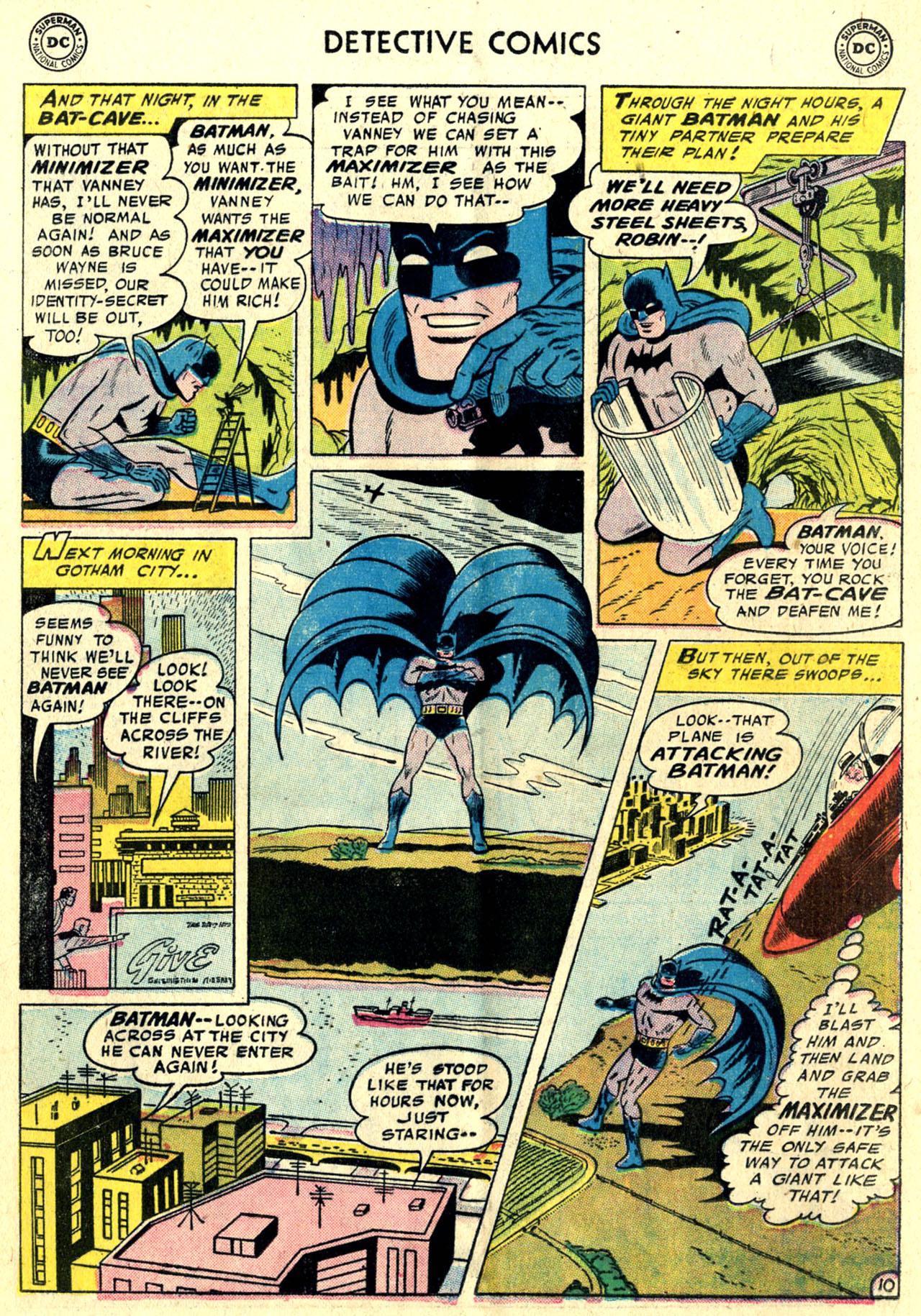 Read online Detective Comics (1937) comic -  Issue #243 - 12
