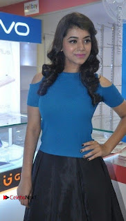 Telugu Actress Yamini Bhaskar Latest Pos in Blue Top and Black Skirt  0013.jpg
