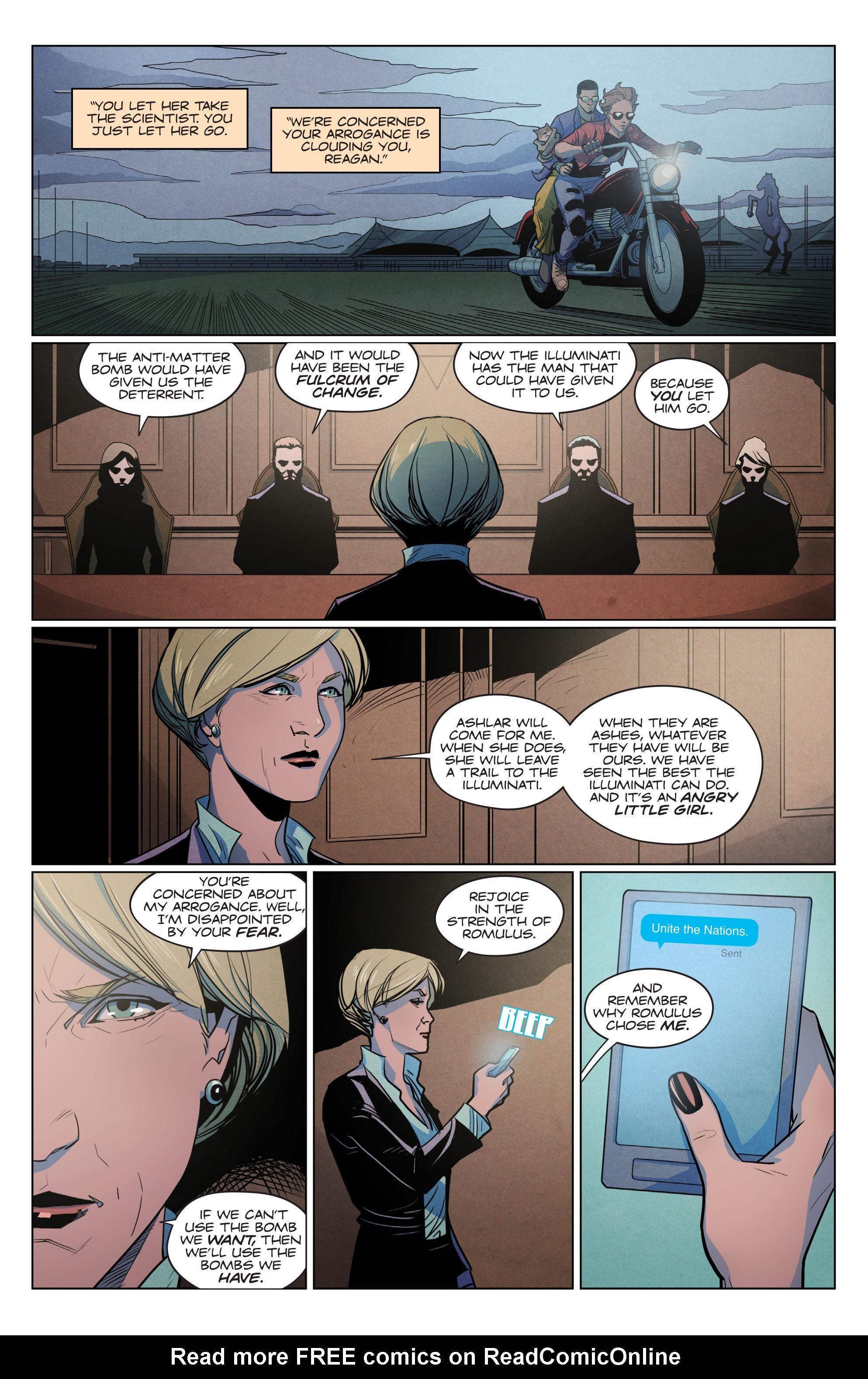 Read online Romulus comic -  Issue #4 - 17