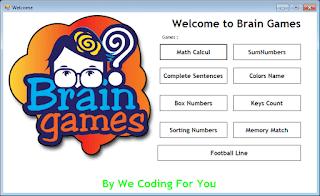 Brain Games Source Code