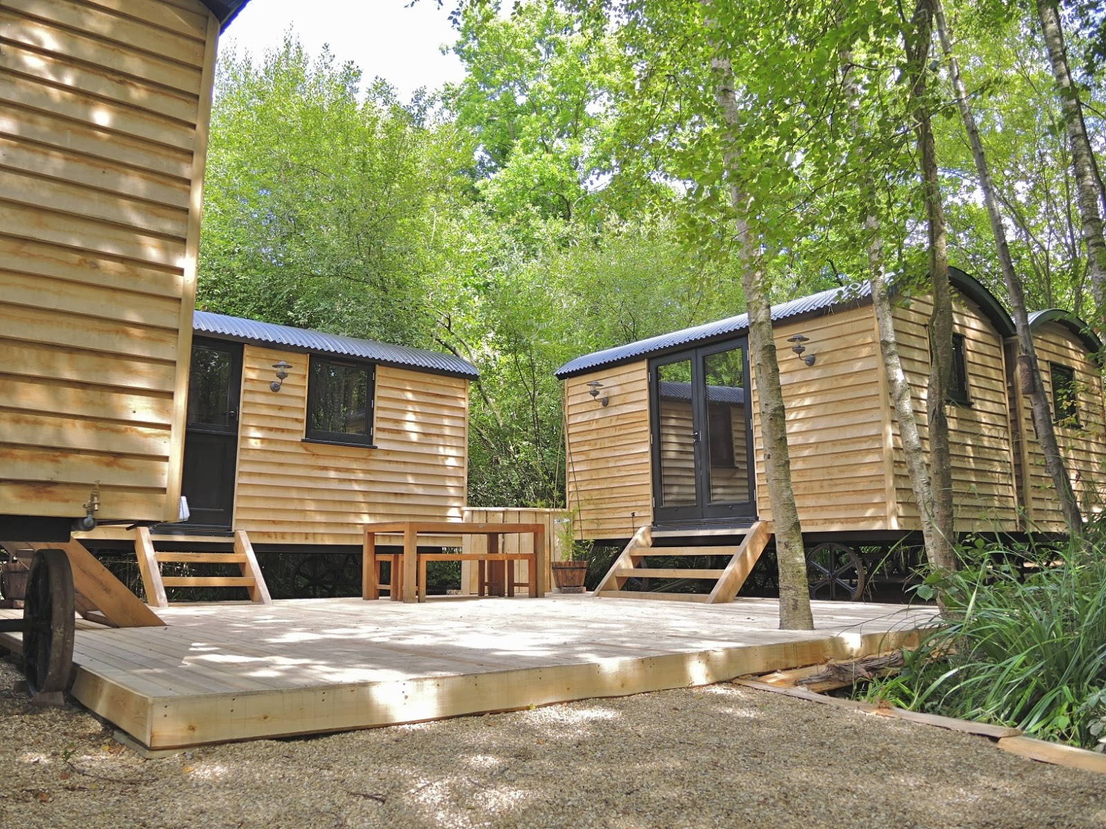 Shedworking: Global surge for shepherds\' huts