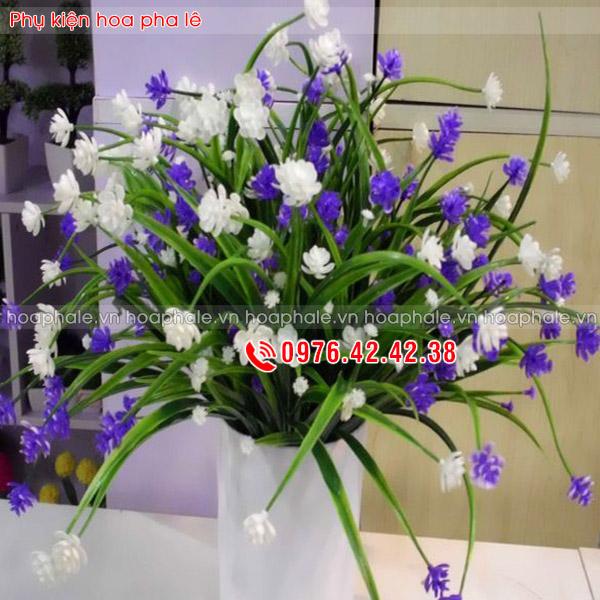 Cụm hoa đá - phụ kiện hoa pha lê