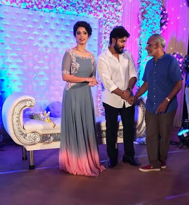 Dhyan Sreenivasan & Arpita Sebastian engagement