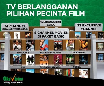 Gratis 2 Bulan All Channel Promo Okevision Maret 2014