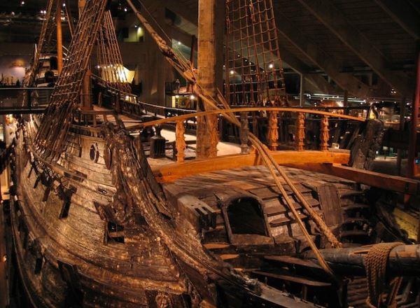 Kapal Perang Vasa di Museum Vasamuseet