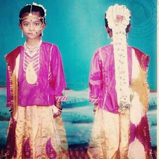 Radhika Pandit first mogginajage