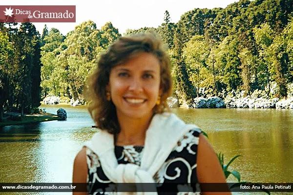 Leitora do blog, Ana Paula Petinati em sua primeira viagem à Serra Gaúcha, em 1999.