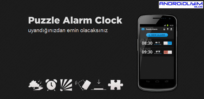 Puzzle Alarm Clock PRO Android FULL APK - androidliyim