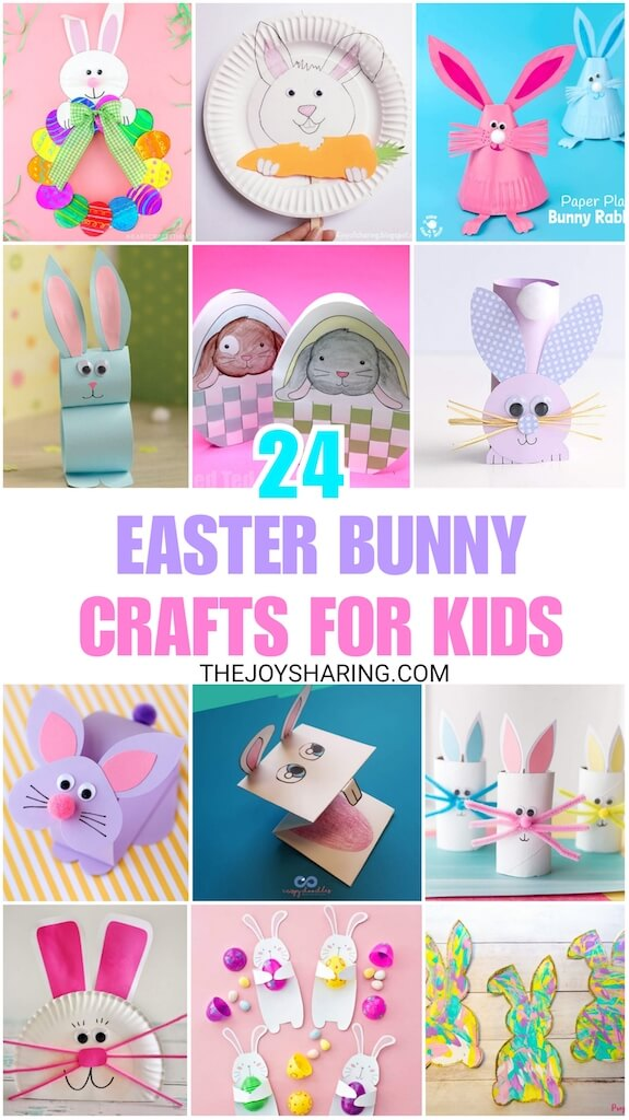 Paper Plate Bunny Easter Craft The Joy Of Sharing