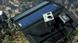 Charge GoPro with Portable Solar Panel