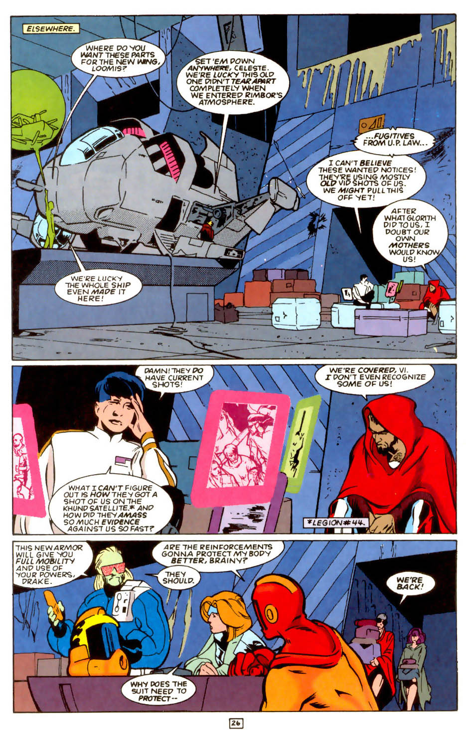 Legion of Super-Heroes (1989) 54 Page 24