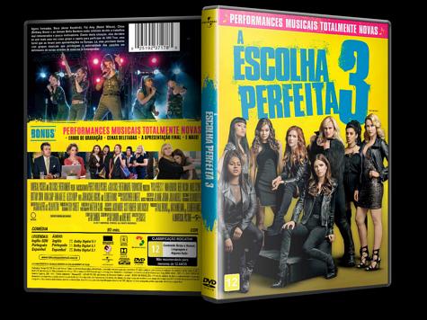 Capa DVD A Escolha Perfeita 3 [Custom]