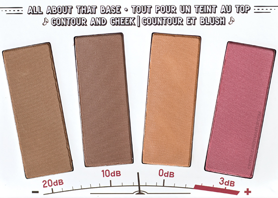 TheBalm Highlite 'N Con Tour Palette Review Contouring Powders