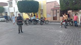 Polícia Militar realiza operação na cidade de Cubati e apreende veículos irregulares