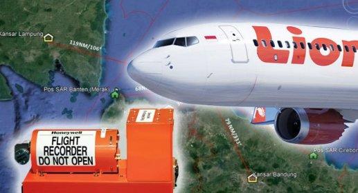 Kotak Hitam Lion Air, PK-LQP JT 610 Ditemukan