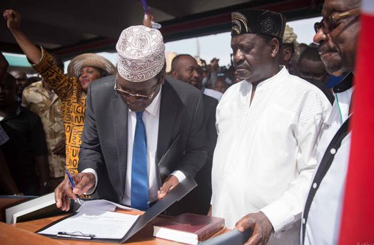 The Day General Miguna Miguna Roasted and Buried A KOT Idler