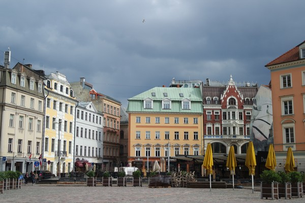 riga vieille ville old town domplatz