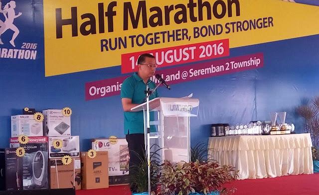 IJM Land Half Marathon 2016, Mr Edward Chong,