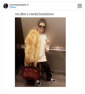 Kourtney Kardashian Mental Breakdown