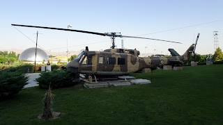 UH-1 Iroquois is a utility military helicopter powered by a single turboshaft engine