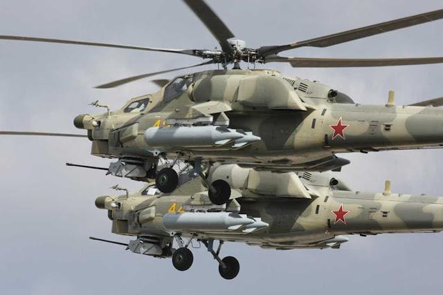 "RUSIA UNTUK PERTAMA KALINYA MENGEKSPOR HELIKOPTER Mi-28NE ""NIGHT HUNTER"""