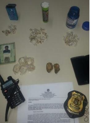 Pai e filho são presos suspeitos de tráfico de droga em Serra Talhada – PE