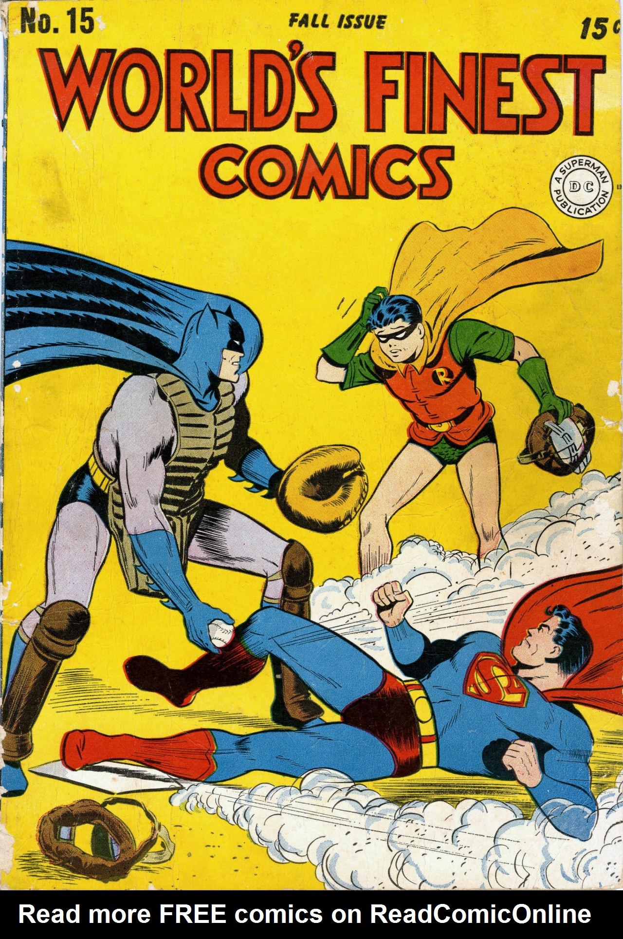 Read online World's Finest Comics comic -  Issue #15 - 2