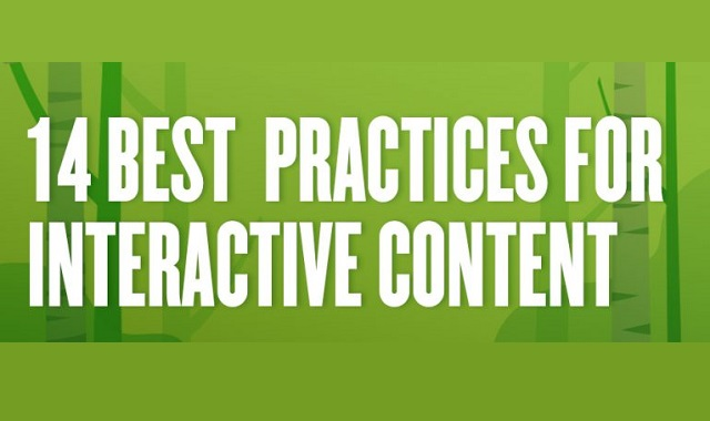 Best practices for interactive content