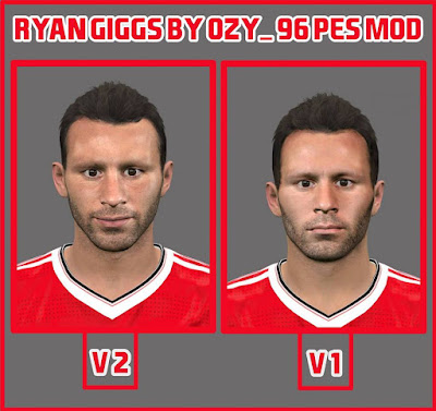 Ryan Giggs By Ozy_96 Pes Mod