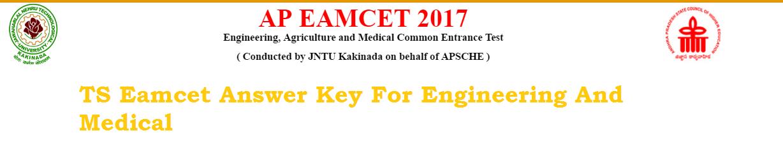ap eamcet medical engineering key