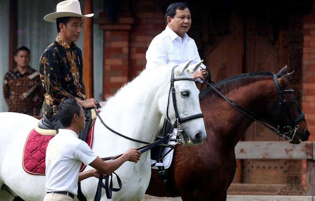 Kubu Jokowi Soroti Kuda Impor Prabowo, Timses: Jaka Sembung Bawa Golok