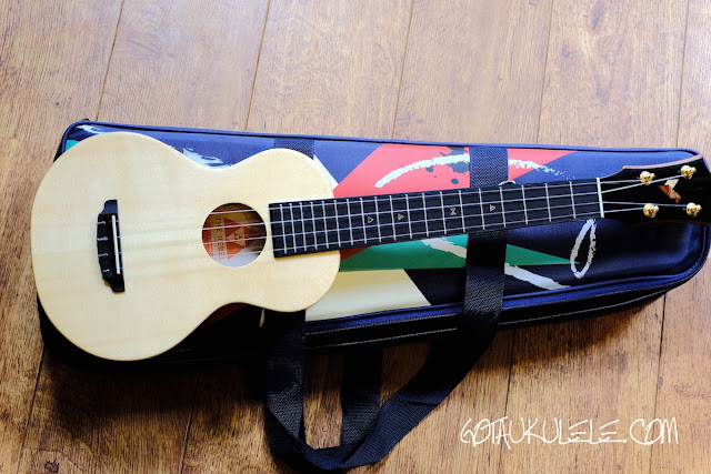 The Rebel Cheesecake Super Concert Ukulele