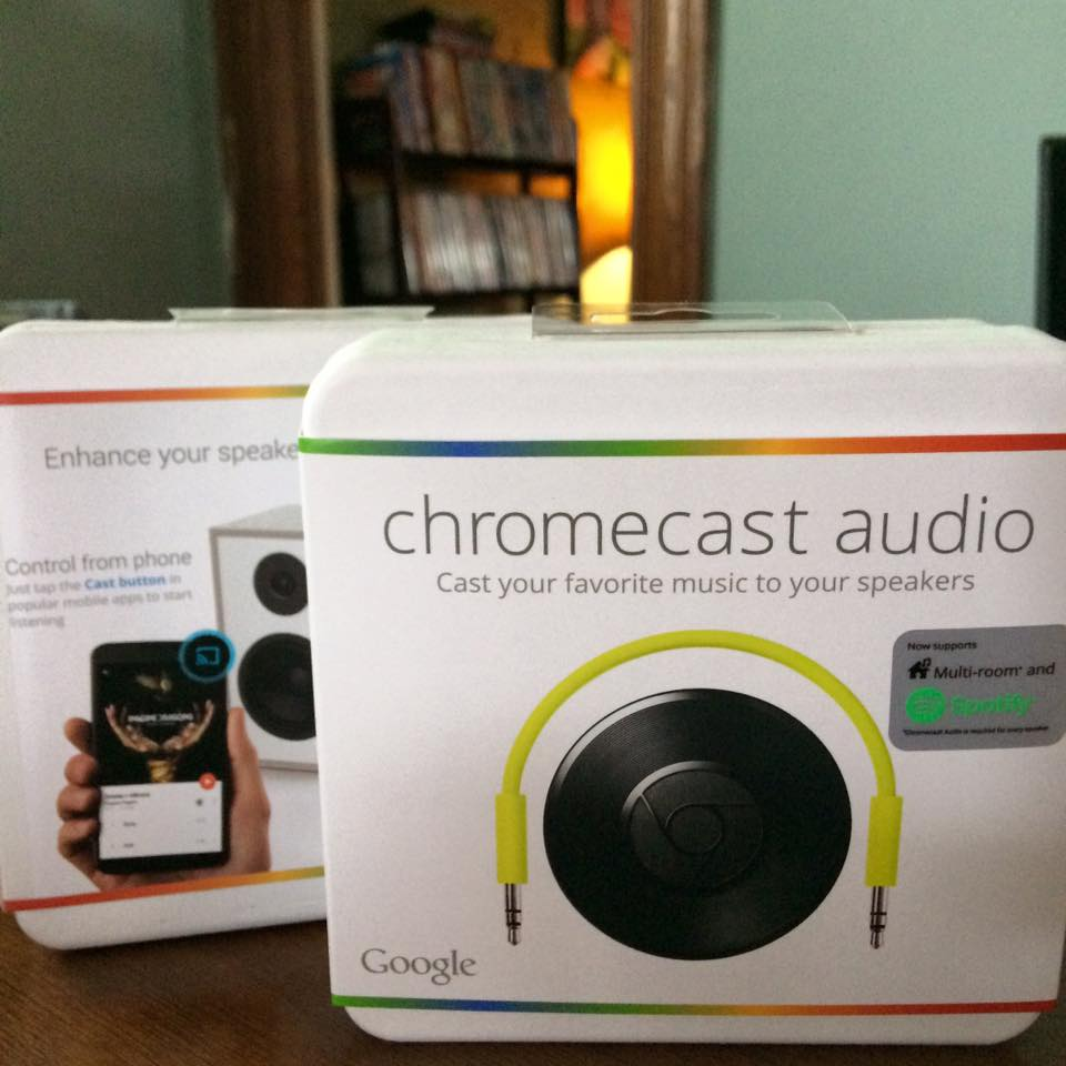 Chromecast Audio Is Updated So That You Can Listen to Audio at High Resolution