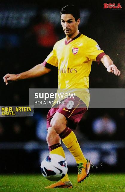 Mikel Arteta Arsenal 2012