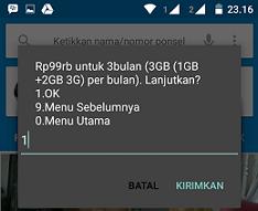 Paket Internet Murah 9GB Harga 99 Ribu Untuk 3 Bulan Dari Kartu SimPATI Active