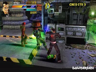 Gekido Urban Fighters PS1 Gameplay
