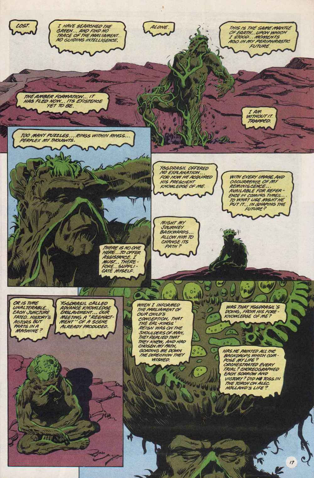 Swamp Thing (1982) Issue #89 #97 - English 18