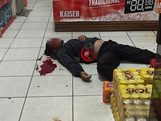 jovem é executado com mais de dez tiros enquanto tomava cerveja