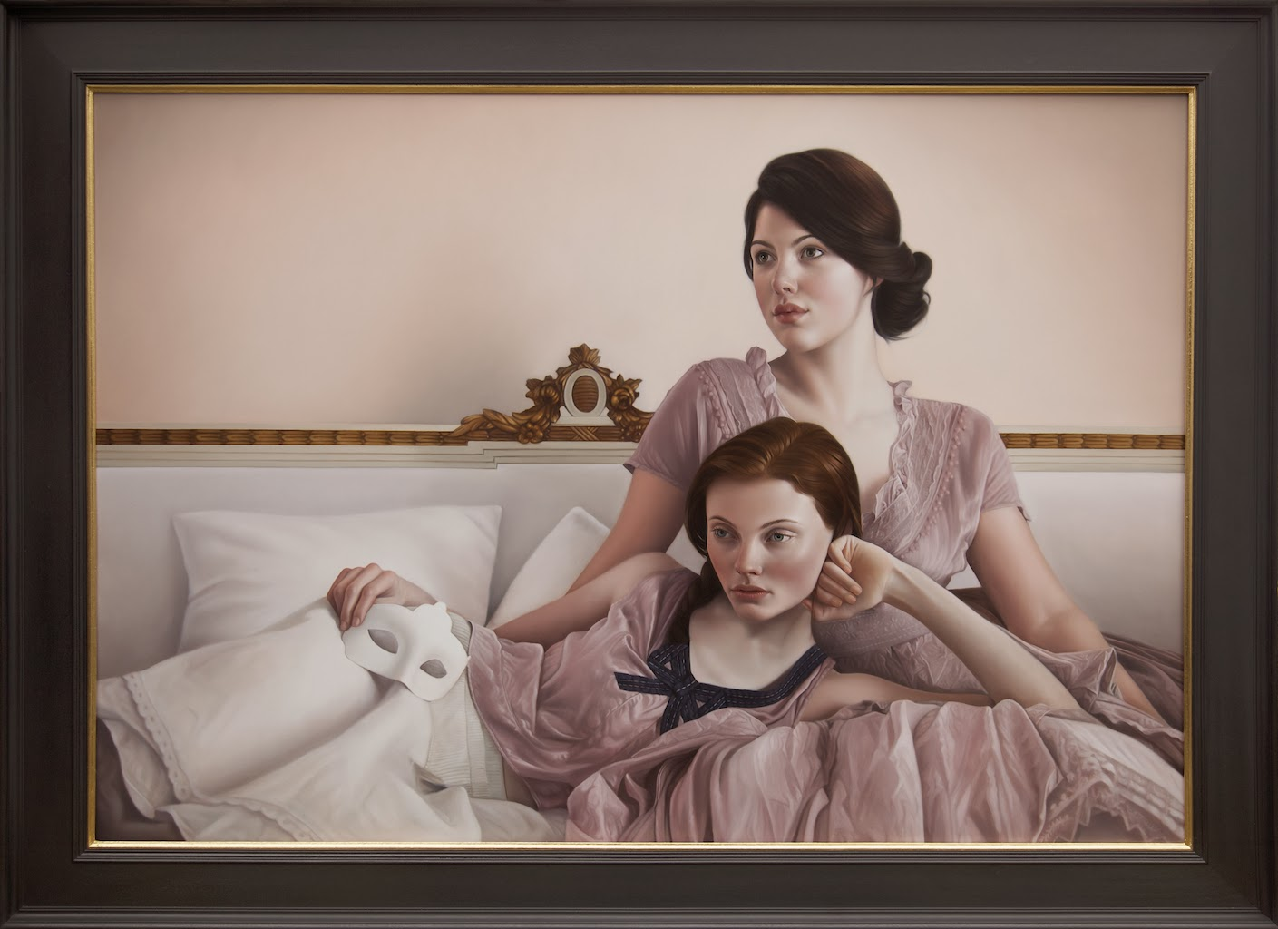 Mary Jane Ansell Hope and the Reckoning 28 X 40 in.
