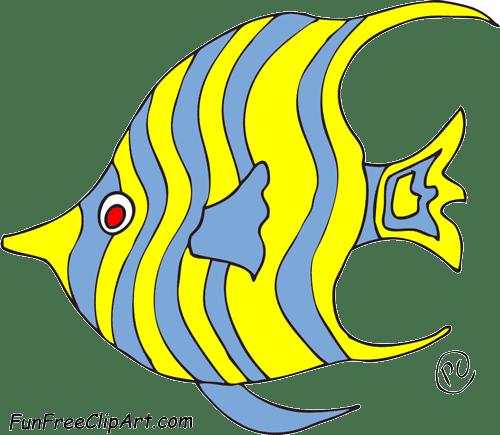 free clip art funny fish - photo #35