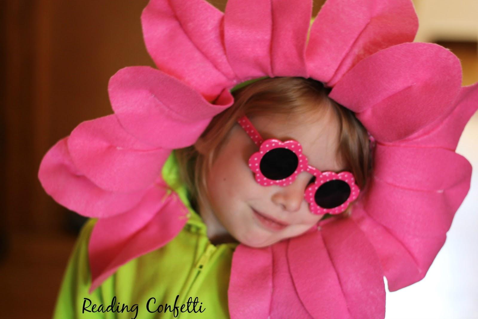 DIY Flower Costume ~ Reading Confetti