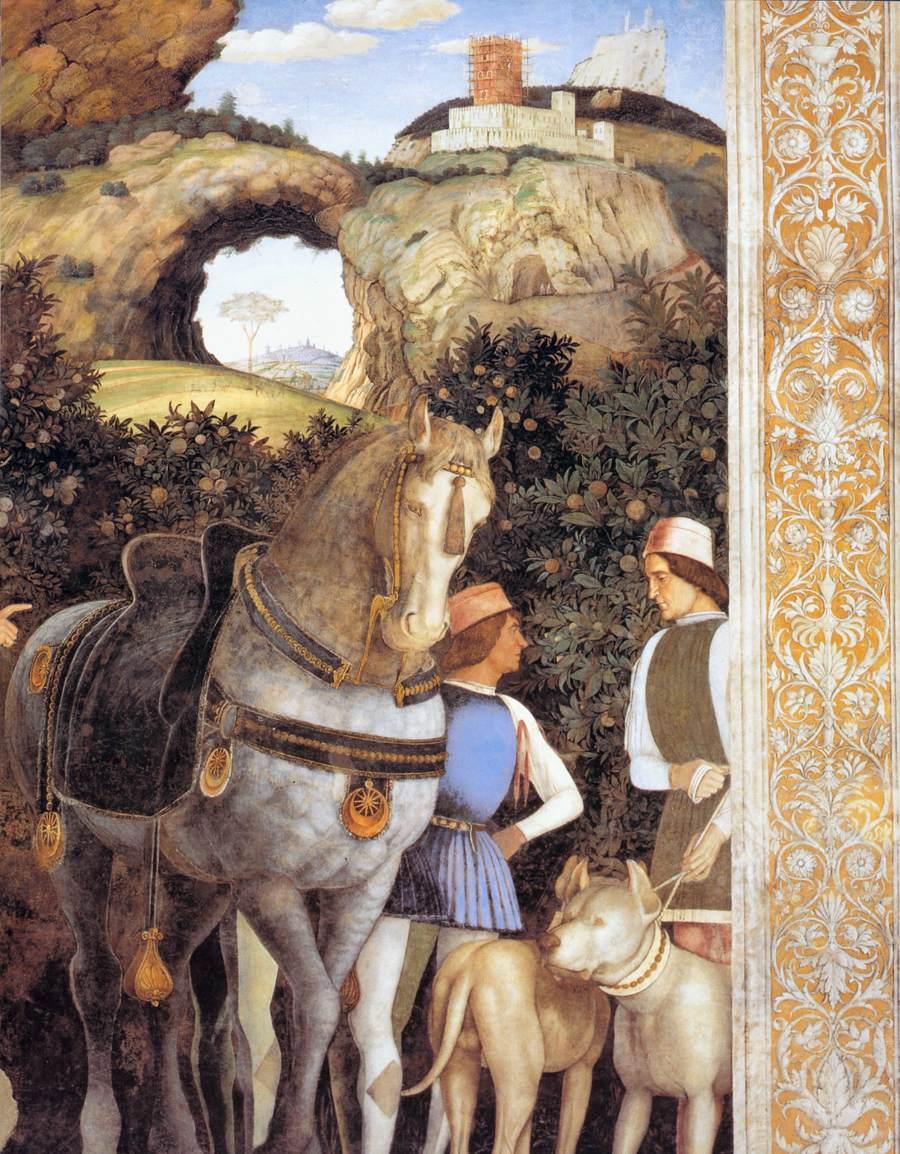 Andrea mantegna la camera degli sposi 1465 1474 art for La camera degli sposi a mantova