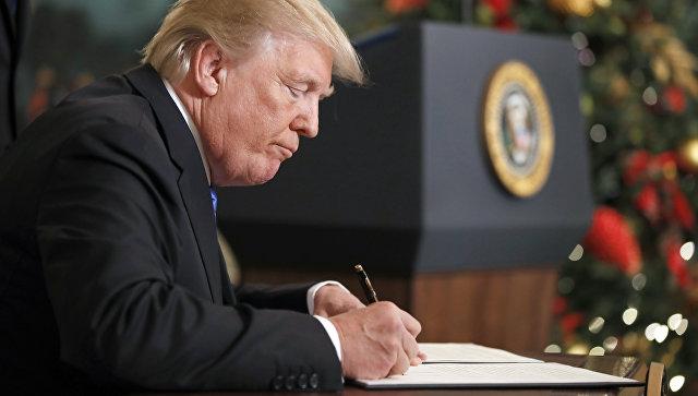 Ужесточение давления. Трамп одобрил новый пакет антироссийских санкции